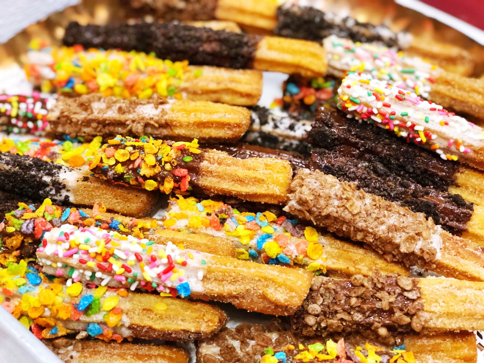 Hand Dipped Churros