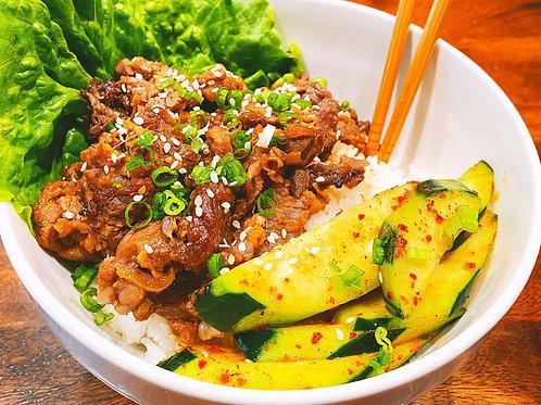 Korean Bulgogi w/Jasmine Rice