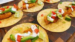 Panko Fried Shrimp Tacos