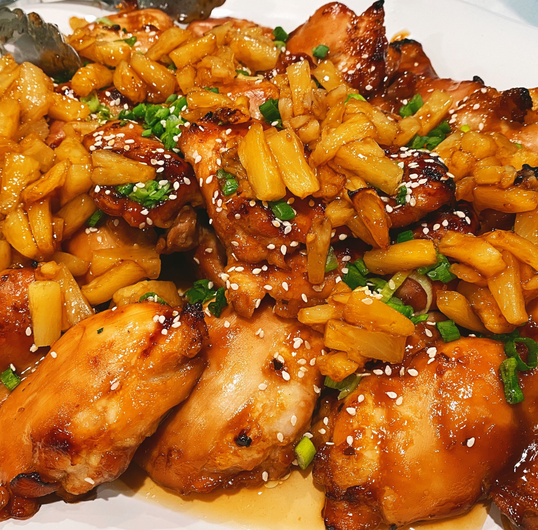 Teriyaki Chicken w/Sautéed Pineapple