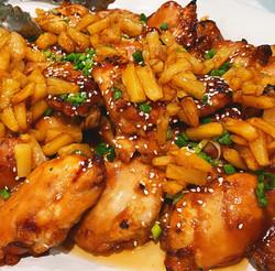 Teriyaki Chicken w/Sautéed Pineapple