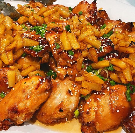 Teriyaki Chicken w/Roasted Pineapple