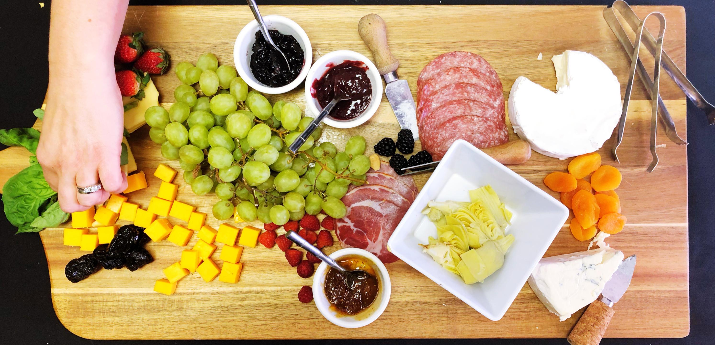 Charcuterie & International Cheese Variety