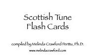 Scottish Tune Flash Cards