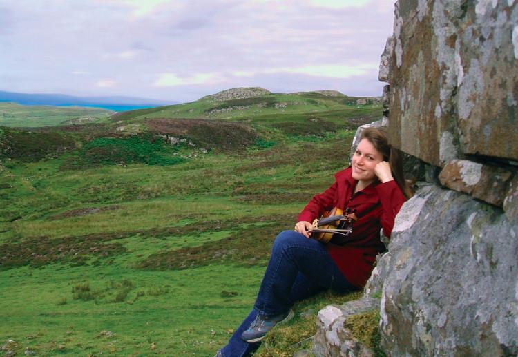 Against Dùn Beag Broch, Struan, Isle of Skye