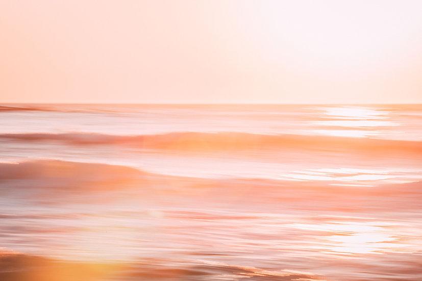 OCEAN BLUSH - A3 PRINT (free shipping)