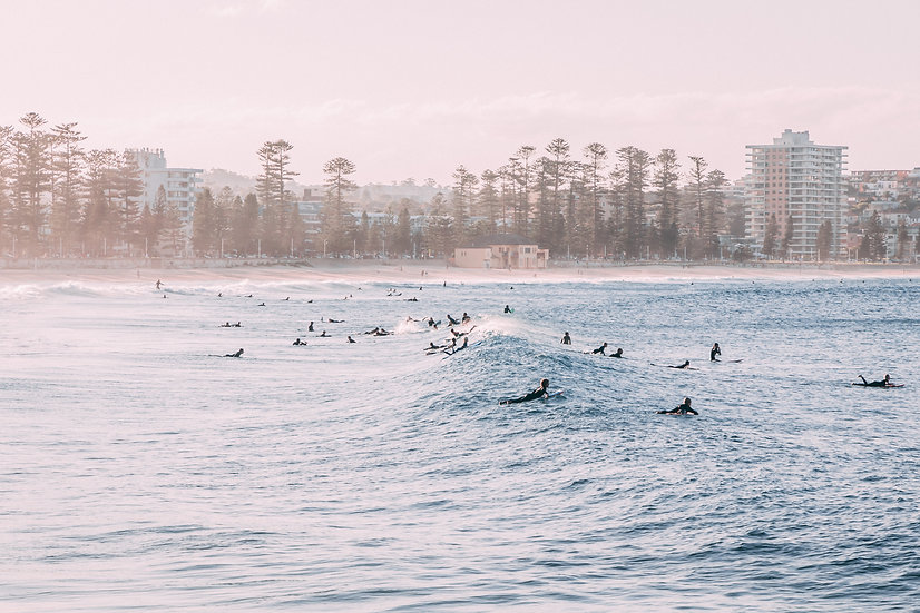 MANLY IN MAY - A3 PRINT (free shipping)