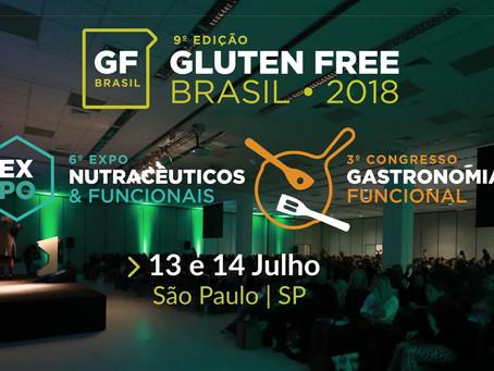 Destaques das palestras do Gluten Free Brasil - 2018