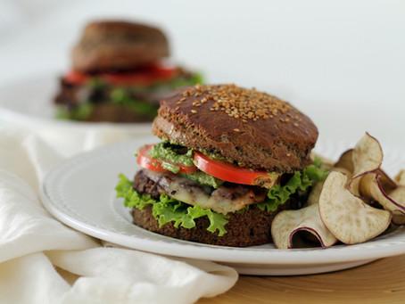 Hambúrguer sem glúten e vegetariano - Gilmore Girls