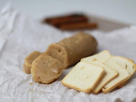 Manteiga ghee temperada com canela