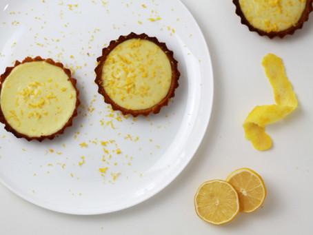 Limão Siciliano - Tartelette au citron antiestress