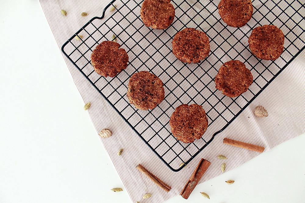 Biscoito sem glúten sem lacteos canela especiarias receita