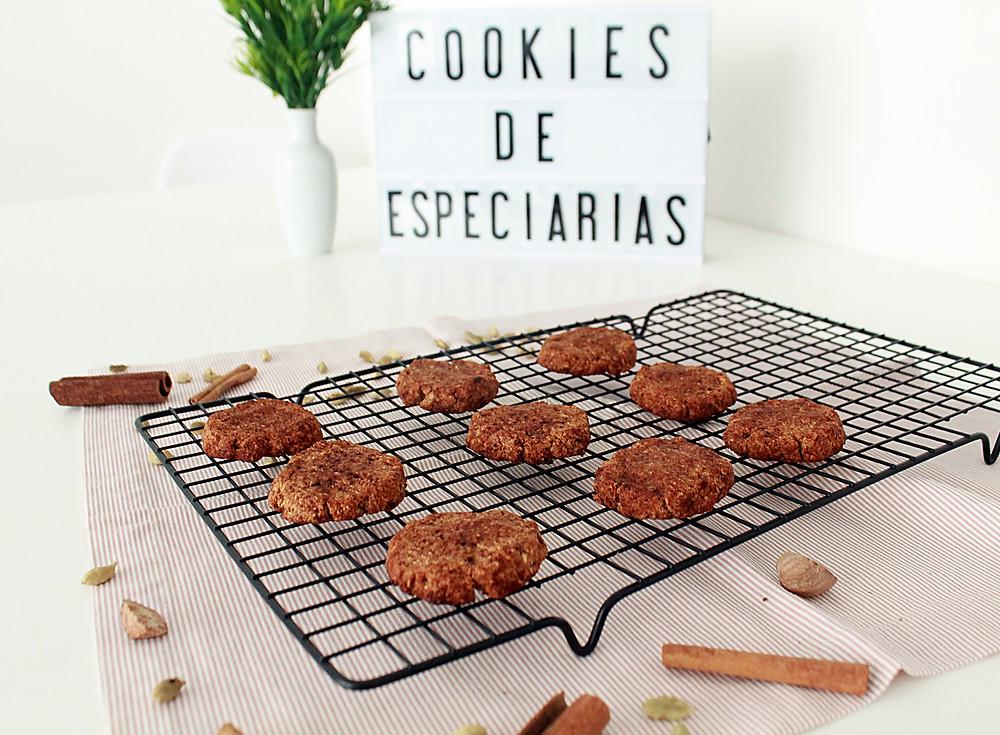 Biscoito especiarias sem glúten sem lacteos canela receita