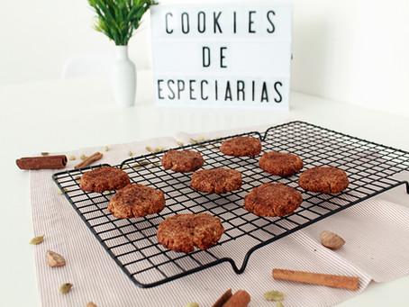 Cookies de especiarias - sem glúten e lácteos