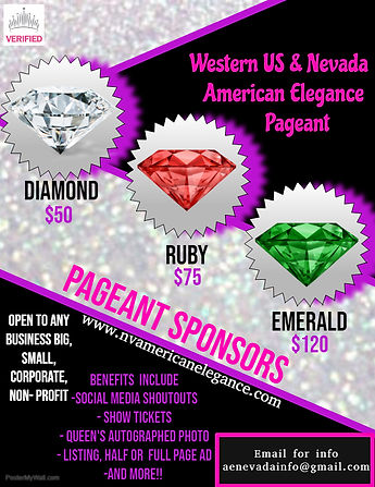 Pageant Sponsor 2019 - Made with PosterM