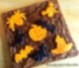 Bolo Halloween - brownie