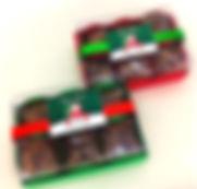 Caixa Natal com brownie
