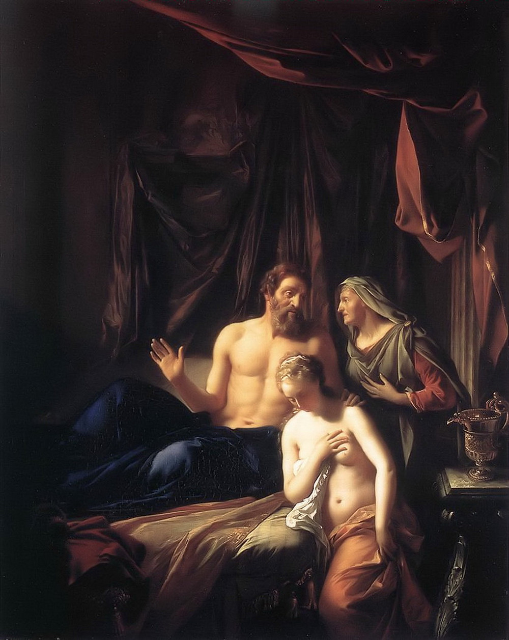 Sarah Presenting Hagar to Abraham, surrogacy in ancient times