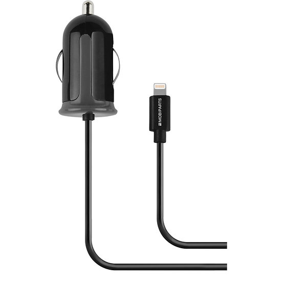 Car Charger Apple Lightning 2.4A Black