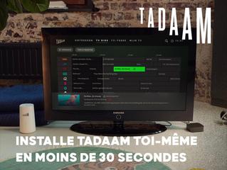 Tadaam, exclusivité Phone corner Ath, une borne 4G avec Tv prête à l'emploi !