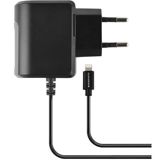 Wall Charger Apple Lightning 2.4A Black