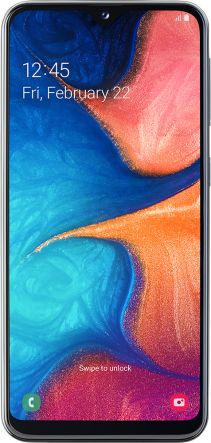 Samsung Galaxy A20 noir