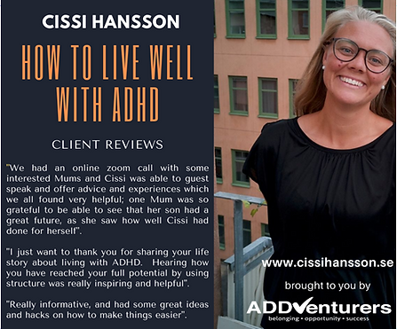 How to live well with adhd - client revi