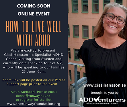 How to live well with ADHD - Coming Soon