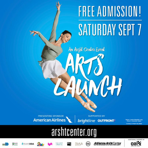 Arts Ballet Theatre of Florida will be part of ArtsLaunch Saturday, Sept 7.