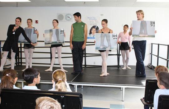 @artsballet goes to school