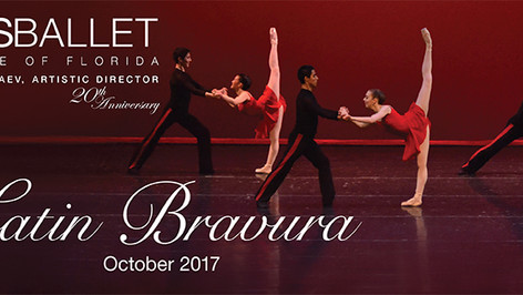 CELEBRATING ITS 20th ANNIVERSARY Arts Ballet Theatre of Florida Announces The 2017 - 2018 Season.