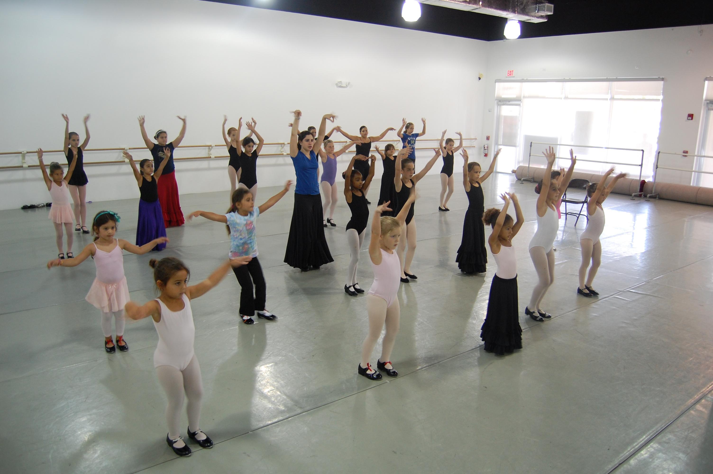 Flamenco Rehearsal 1