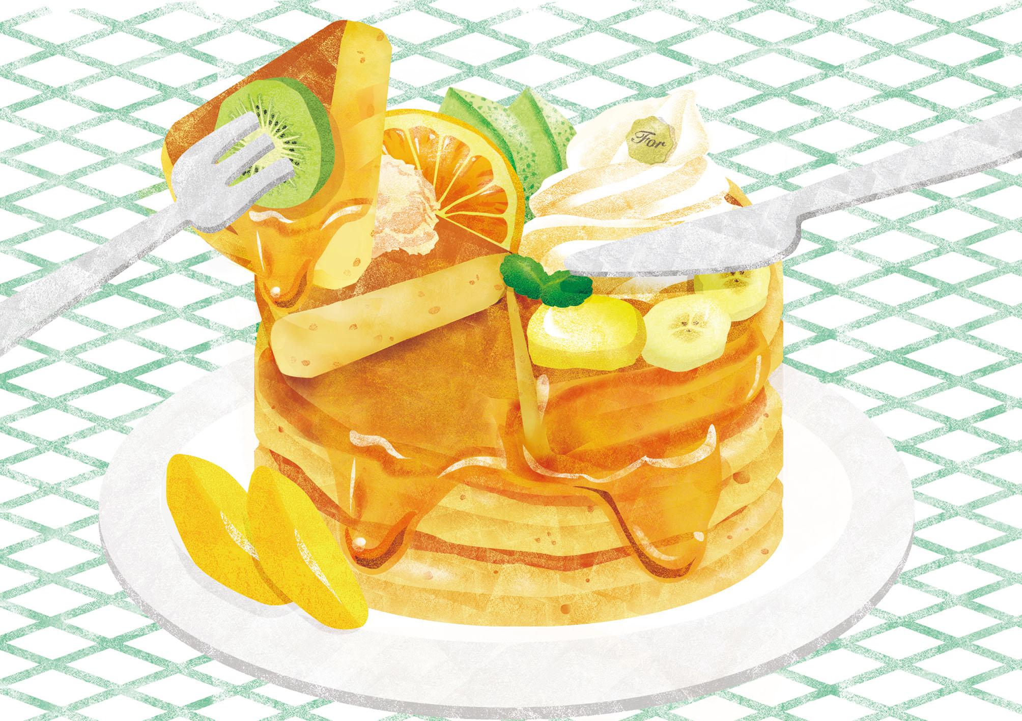 eat pancake