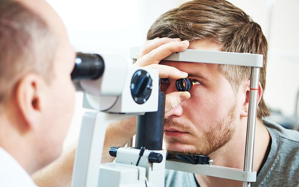 Get eye examintion