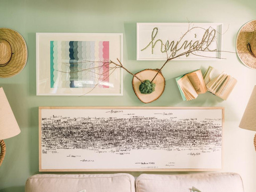 Easy DIY Wall Art to Brighten Up Plain Rooms