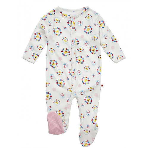 Piccalilly Organic Cotton Sleepsuit