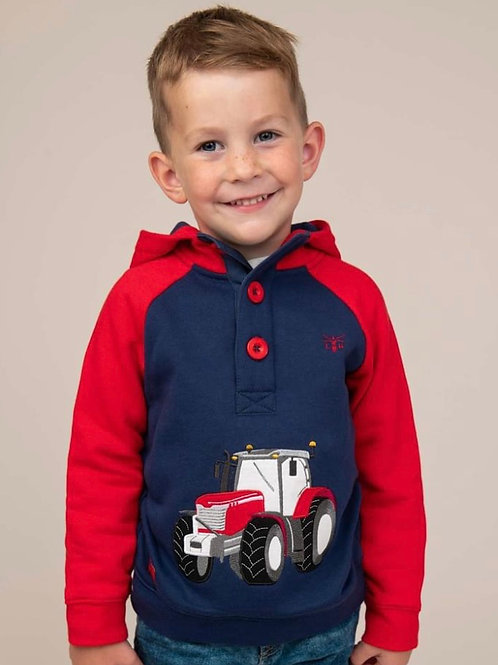 Lighthouse Red Tractor Hoodie