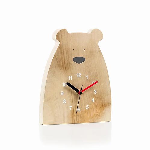 sam agus nessa bear clock