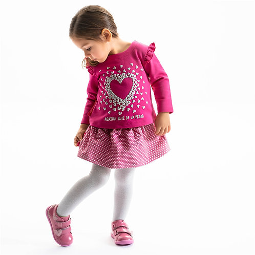 Agatha Ruiz de la Prada Top, Skirt &Tights