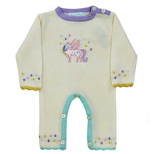 Powell Craft Knitted Romper