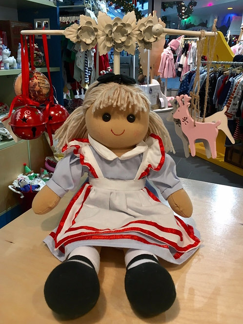 Powell Craft Alice Rag Doll