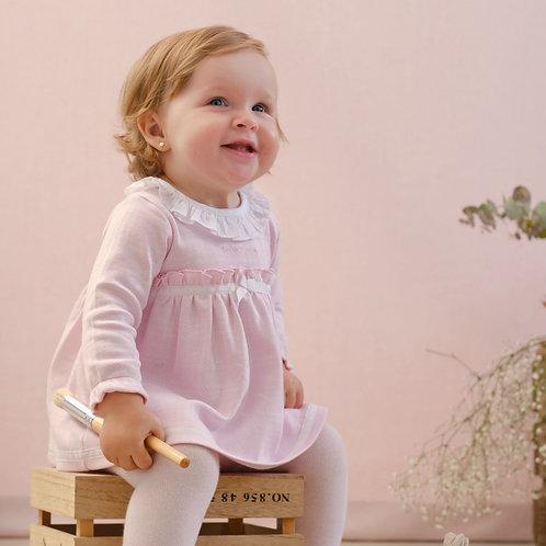 Tutto Piccolo Pink Dress & Tights