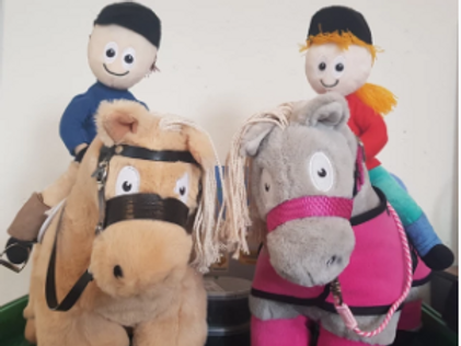 Crafty Ponies Harry & Pippa