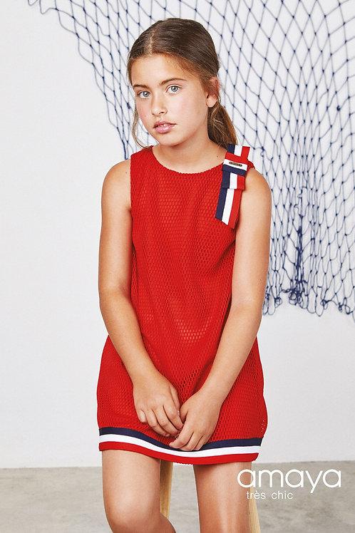 Amaya Red Dress