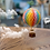 Thumbnail: Authentic Models Hot Air Balloon 'Floating The Skys' 13cm