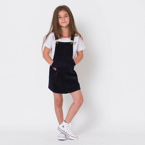 Animal Dungarees Skirt