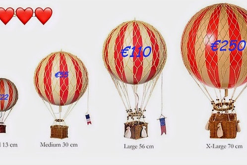 Authentic Models Hot Air Balloon 'Floating The Skys' 13cm