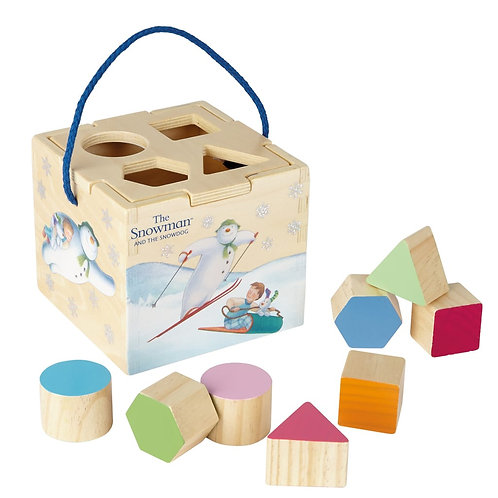 The Snowman Shape sorter