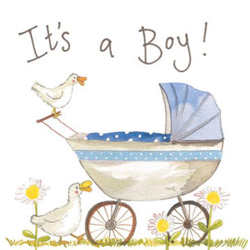 Alex Clark 'It's a Boy!' Card