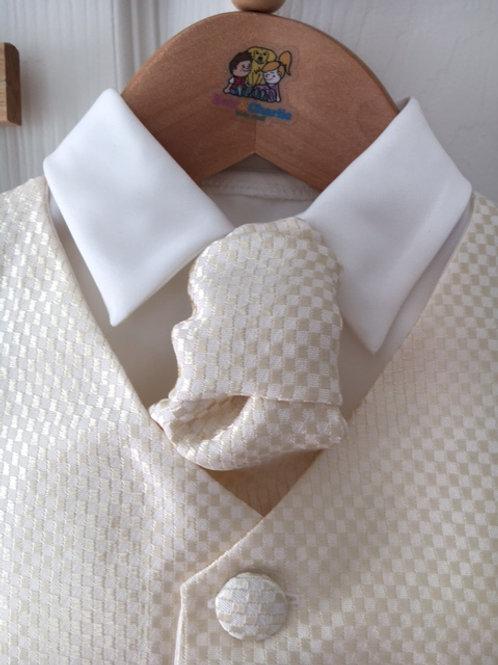 Christening Suit Cream 'Simon'